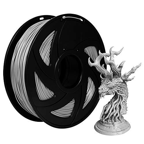 Filament PETG 1.75mm Grey/Gray, XVICO PETG 3D Drucker Filament 1.75mm 1 Kg Spool