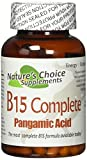 B15 Complete Extra Strength, Pangamic Acid, 500mg 90 Capsules