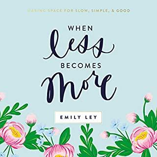 When Less Becomes More audiobook cover art