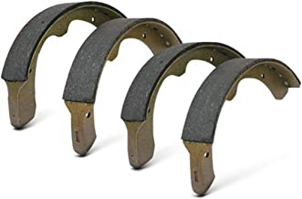 AutoDN Rear Premium Drum Brake Shoes Set of 4 For 1966 Ford Cortina