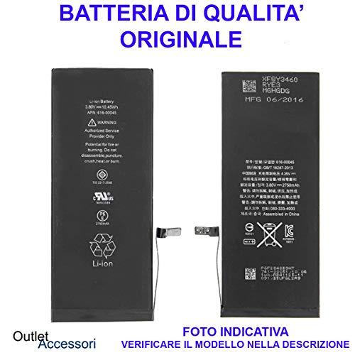 originale Batteria Pila Interna Compatibile per iPhone 5 5G A1428 A1429 A1442 616-0610 0611 0613 1440mah Ricambio