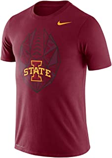 Nike Men's Iowa State Cyclones Football Icon Performance T-Shirt