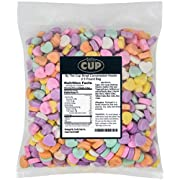 By The Cup Small Conversation Hearts 2.5 Pound Bag
