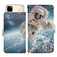 iPhone 12 Pro スライド式 手帳型 スマホケース スマホカバー dslide437(B) 宇宙飛行士 宇宙 スペース ユニバース コスモ アイフォントゥエルブプロ アイフォン12プロ iphone12pro スマートフォン スマートホン 携帯 ケース アイフォントゥエルブプロ アイフォン12プロ iphone12pro 手帳 ダイアリー フリップ スマフォ カバー