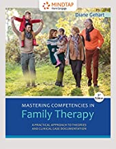 MindTap Counseling, 1 term (6 months) Printed Access Card for Gehart's Mastering Competencies in Family Therapy: A Practical Approach to Theory and Clinical Case Documentation