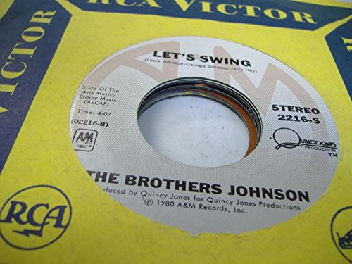 THE BROTHERS JOHNSON 45 RPM Let's Swing / Stomp!