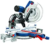 Bosch Power Tools GCM12SD - 15 Amp 12 Inch Corded Dual-Bevel Sliding Glide Miter Saw with...
