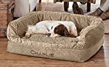 Orvis Comfortfill-eco Couch Dog Bed / Large Dogs 60-90 Lbs., Brown Tweed, Large