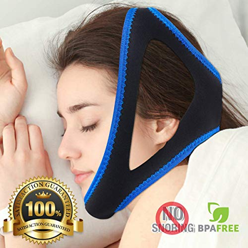 YOUN Chin Strap for Snoring Solution/Anti Snore Device/Sleep Aid for Men and Women
