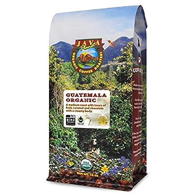 Java Planet, Organic Coffee Beans, Guatemalan Single Origin, Gourmet Medium Roast of Arabica Whole Bean Coffee, Certified Organic, Smithsonian Bird Friendly Certified
