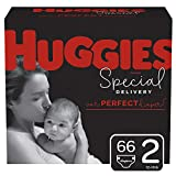 Huggies Special Delivery Hypoallergenic Baby Diapers, Size 2, 66 Ct