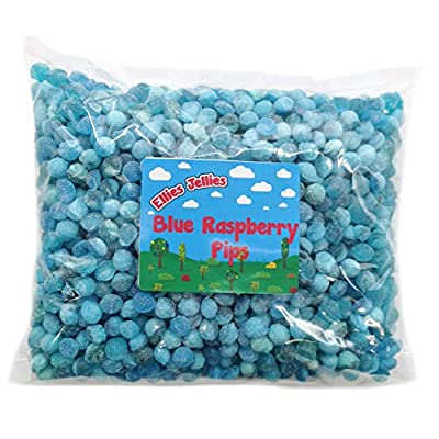 ellies jellies® blue raspberry pips 2kg bag Ellies Jellies® Blue Raspberry Pips 2kg Bag 51 0CGnrVWL