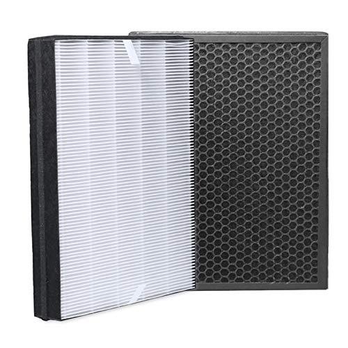 iAmoy FY2422/30 y FY2420/30 Kit de Filtro de Repuesto,1 Filtro HEPA y 1 Filtro de carbón Activado,Compatible con Philips AC2889,AC2887,AC2882 y AC3829/10 purificador de Aire