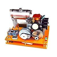 4ストロークガソリンエンジンDIY 12V発電機科学と教育実験室エンジンコレクション教育モデルキットクリスマスプレゼント