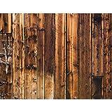 Papier peint intissé Mur en bois 396 x 280 cm - Tapisserie Decoration Murale XXL Poster - Salon Appartement Photo d'art - 9119012a