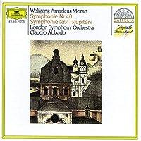 Symphonies 40 & 41 Jupiter by ABBADO / LONDON SYM ORCH (2001-12-21)