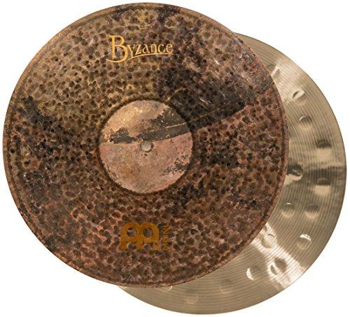 """MEINL Cymbals マイネル Byzance Extra Dry Series ハイハットシンバル 16"""" Medium Thin Hihat ペア B16EDMTH 【国内正規品】"""