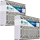 Tier1 Pleated Air Filter - 16x25x5 - MERV 8 Rated - Replacement for Skuttle Air Conditioner/Furnace - Reduces Harmful Airborne Particles for Improved Air Quality - 2 Pack