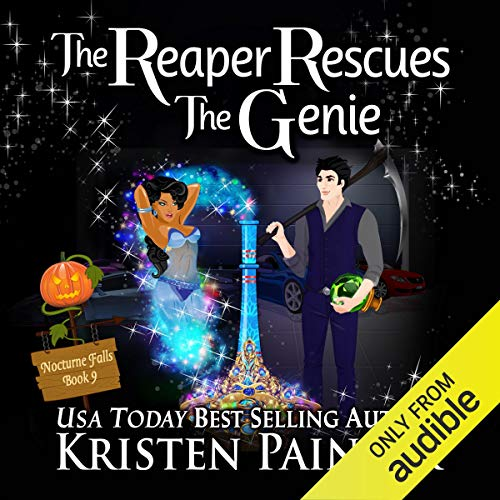 The Reaper Rescues the Genie audiobook cover art