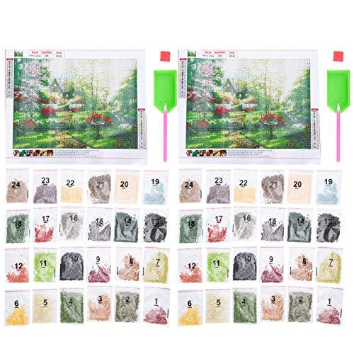RBSD DIY Diamond Painting Kit, dreidimensionales DIY Landscape Diamond Painting, für Erwachsene mit Wohnwand, die Wohnzimmer, Bars, Schlafzimmer, Büros und Esszimmer dekorieren