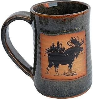 Moose Three 17 Oz. Small Tankard in Seamist glaze