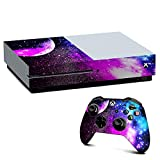 Xbox One S Console Skin Decal Vinyl Wrap - decal stickers skins cover -Galaxy Fluorescent
