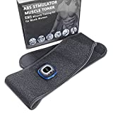 XiuTing Belt Abdominal Muscle Toner,EMS Body Trainer Workout Fitness,Abdominal Toning Belt Workout Portable Fitness Workout Equipment Home Office for Men Women 24'-46'