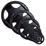 Body-Solid 25lb. Rubber Grip Olympic Plate