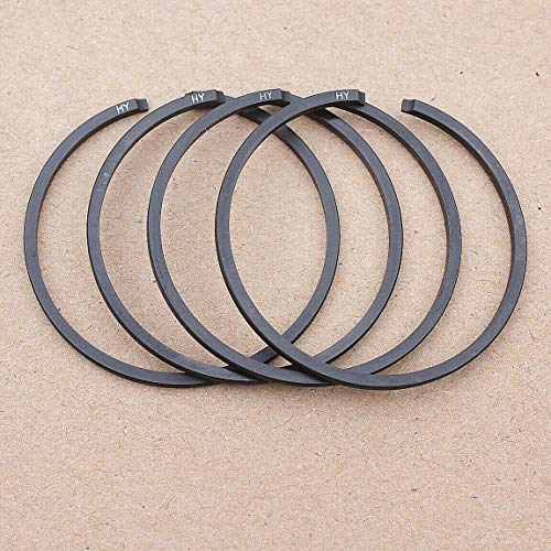 Replacement Parts for Huq 4Pcs 36mm X 1.5mm Piston Ring Set for Stihl 009 010 Av Chainsaw 1120 034 3001