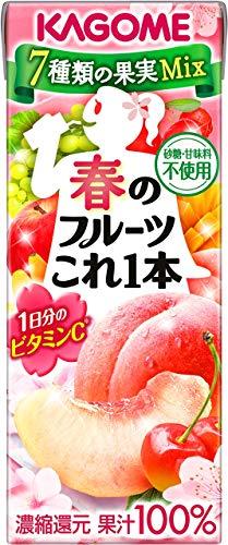 カゴメ 春のフルーツこれ一本200ml ×24本