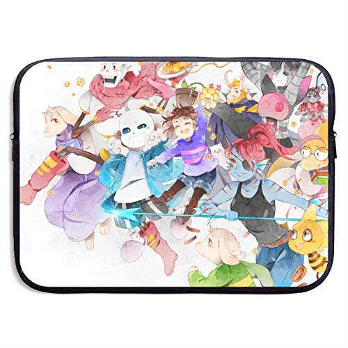 Undertale Laptop Sleeve Bag Tablet Briefcase Ultraportable Protective Canvas for MacBook Pro/MacBook Air/Notebook Computer15 Inch