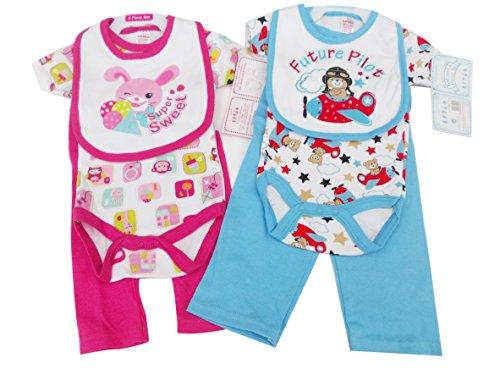 Layette set - Ensemble - Bébé (garçon) 0 à 24 mois rose rose 0-3 mois