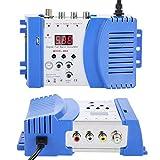 WNSC HF-Modulator, UKW/UHF-TV-Wandler für Videokameras für Videospielkonsolen für lokales...