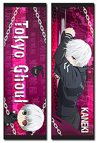 Tokyo Ghoul 45819 Body Pillow, One Size, Multicolor