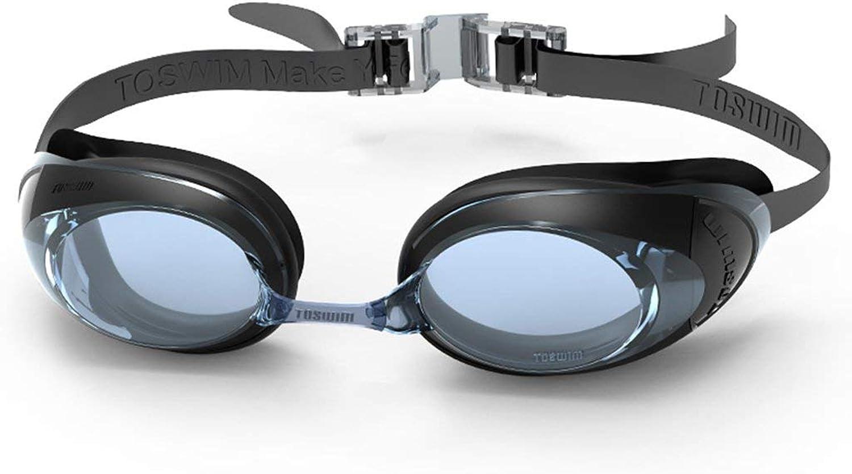 Fishroll Taucherbrille Schwimmbrille Männliche und weibliche Modelle Erwachsene Professionelle Trainingsbrille Anti-UV Anti-Fog Wasserdichte HD Schwimmen Ausrüstung B07PGD8ZWR  Meistverkaufte weltweit