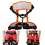 <span class='highlight'><span class='highlight'>Pongnas</span></span> Climbing Harness Safety Belt, Anti-Fall Protection for Mountaineering Rescuing Rock Climbing Rappelling Outdoor Sports Work Protection