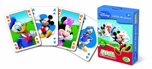 Modiano Disney - Carte da Gioco La casa di Topolino