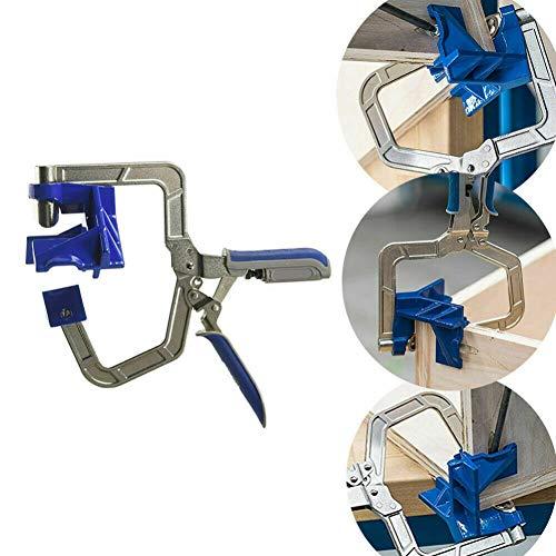 Balai 2019 NEUESTE automatisch einstellbare 90-Grad-Eckklemmen, Planrahmenklemmen Passende Werkzeuge für die Holzbearbeitung für Kreg-Vorrichtungen und 90 ° -Eckverbindungen/T-Verbindungen