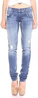 Diesel Women's Grupee R8840 Super Slim-Skinny Low Waist Jeans 98% Cotton 2% Elastane