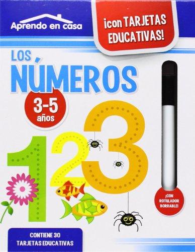 APRENDO EN CASA LOS NÚMEROS (3-5 años)