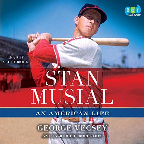 Stan Musial audiobook cover art