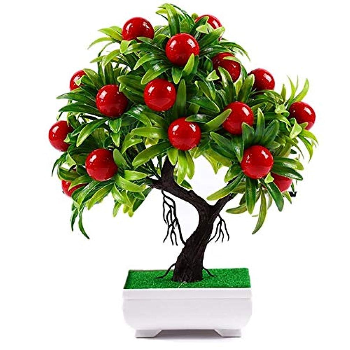 苦いバックアップ有害なパーフェクト装飾 人工植物盆栽小さな木鉢植え模擬ホー鉢植えの装飾品のホームデコレーションホテルガーデンインテリア 環境の最適化 (Color : Multi)