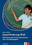 Sprachförderung PLUS Mathematik: Förderbausteine für den Soforteinsatz - Text- und Sachaufgaben in der Grundschule