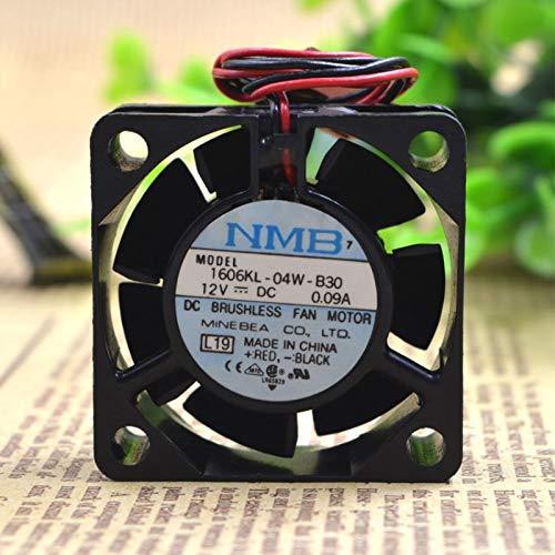 .1606KL-04W-B30 12V 0.09a ventilador de caja de bola 9 cm