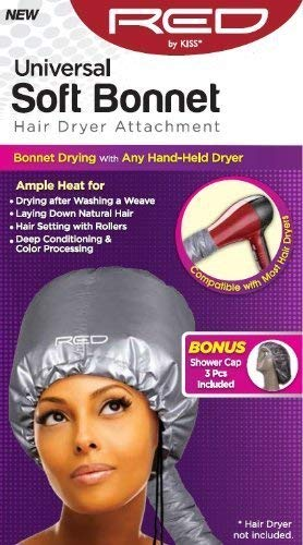 Universal Soft Bonnet Hair Dryer Attachment