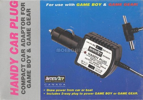Interact Accessories GameBoy Color Car Adapter