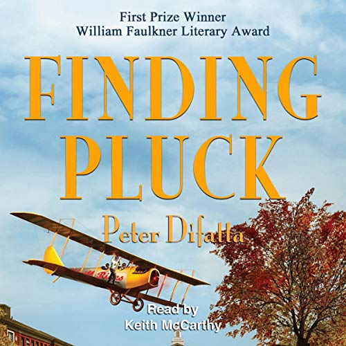 Finding Pluck audiobook cover art