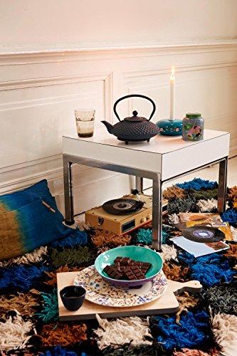 Bredemeijer G002B Asia Xilin Théière Fonte Bleu 1,25 L