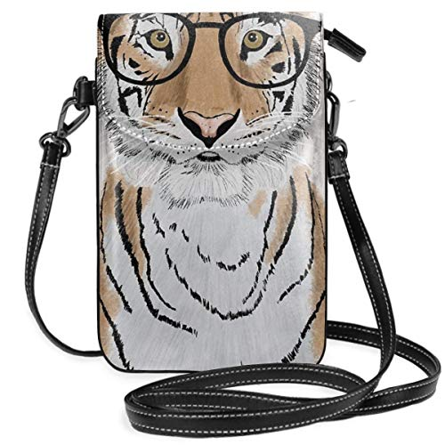Clever Tiger - Cartera ligera para teléfono celular, con práctico transporte