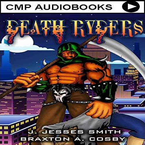 Death Ryders: An Epic Urban Fantasy Paranormal Adventure Series audiobook cover art